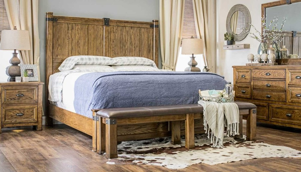 The Country Roads Bedroom Collection Only At Home Zone