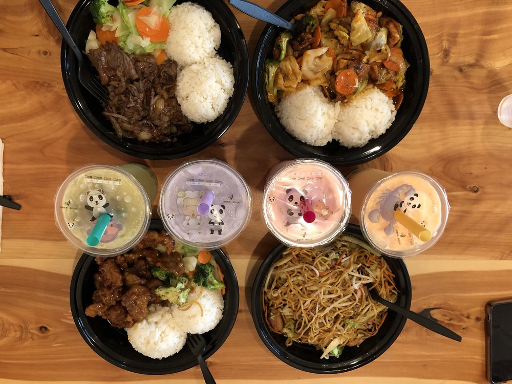 Food from Ninja Bowl Teriyaki
