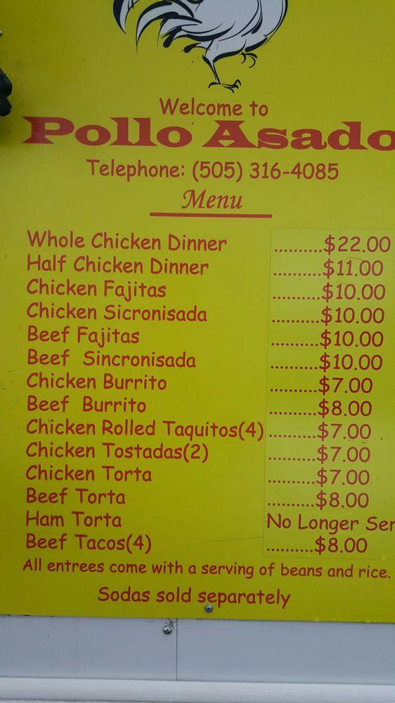 Pollo Asado: 2864 Cerillos Rd, Santa Fe, NM
