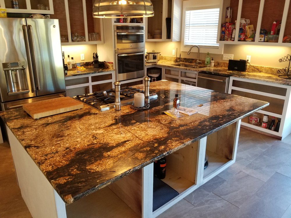 Exotic Granite Job In Chattanooga Yelp