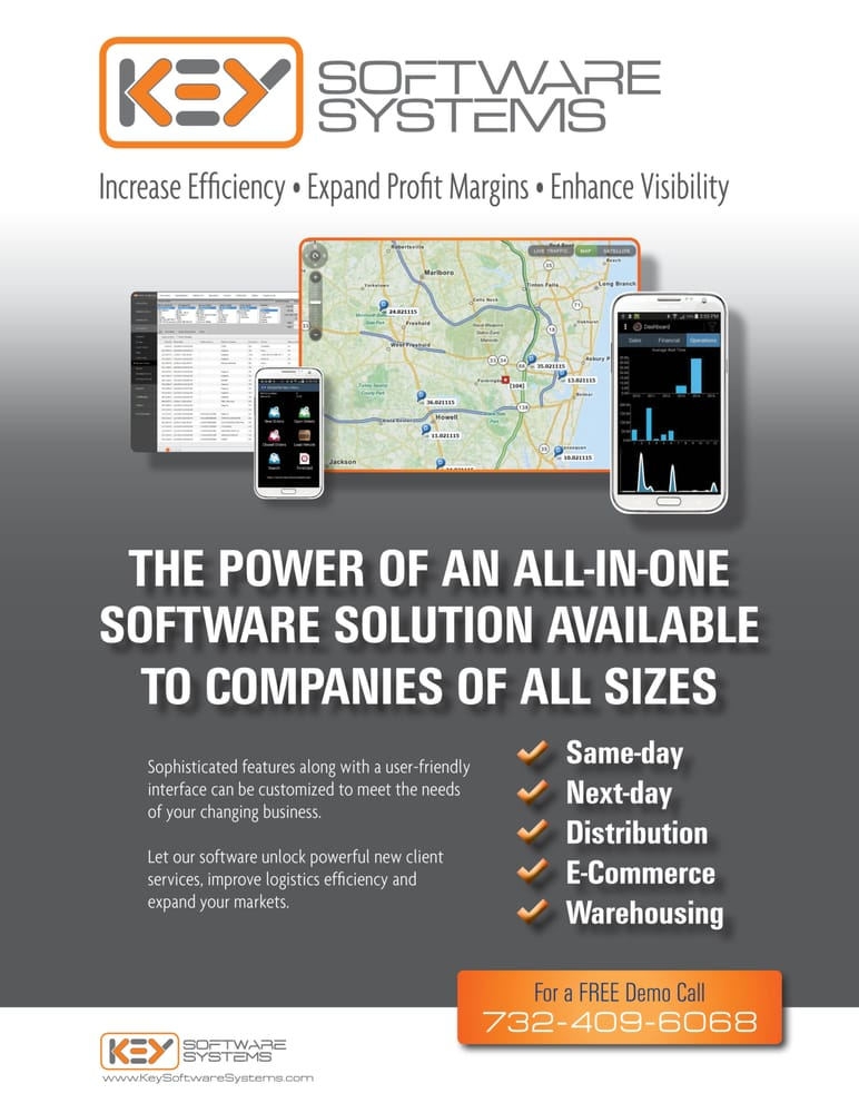 Trade show flyer for digital courier software company - Yelp