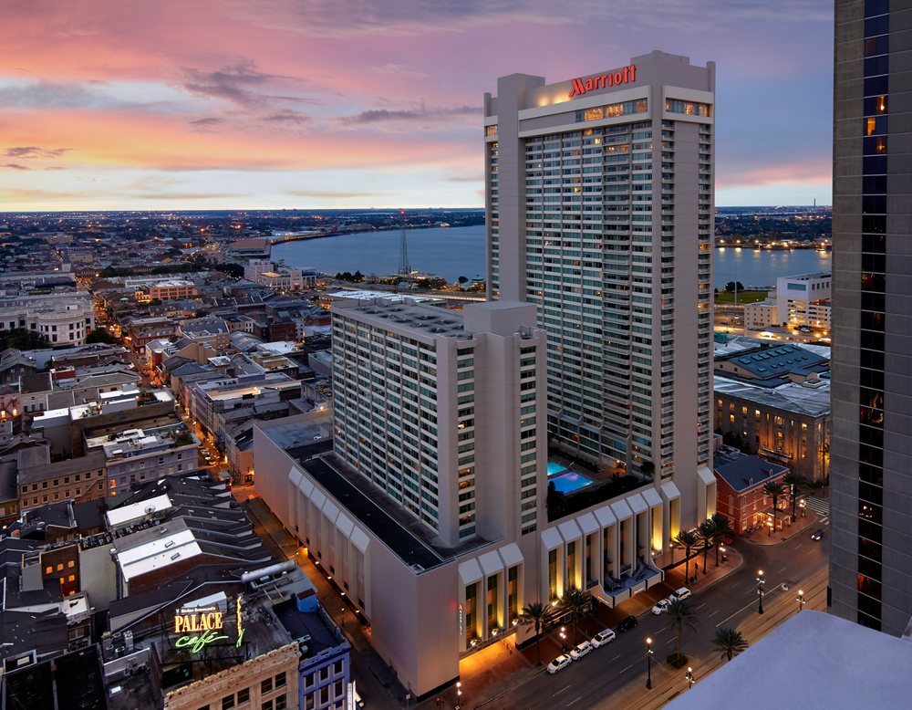 New Orleans Marriott: 555 Canal St, New Orleans, LA
