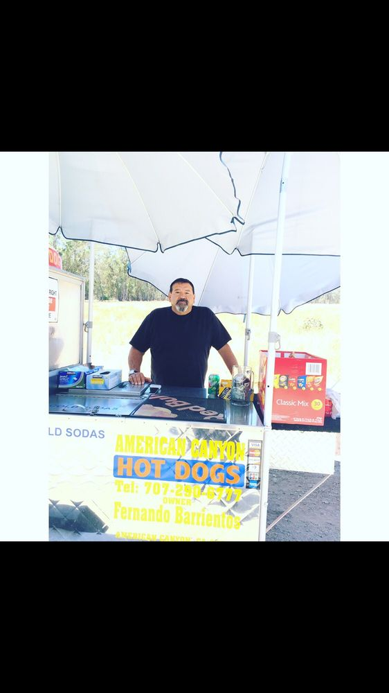 American Canyon Hot Dogs: 278 Arden Ct, American Canyon, CA