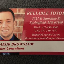 Photo Of Reliable Toyota   Springfield, MO, United States. Highly Recommend  Working With