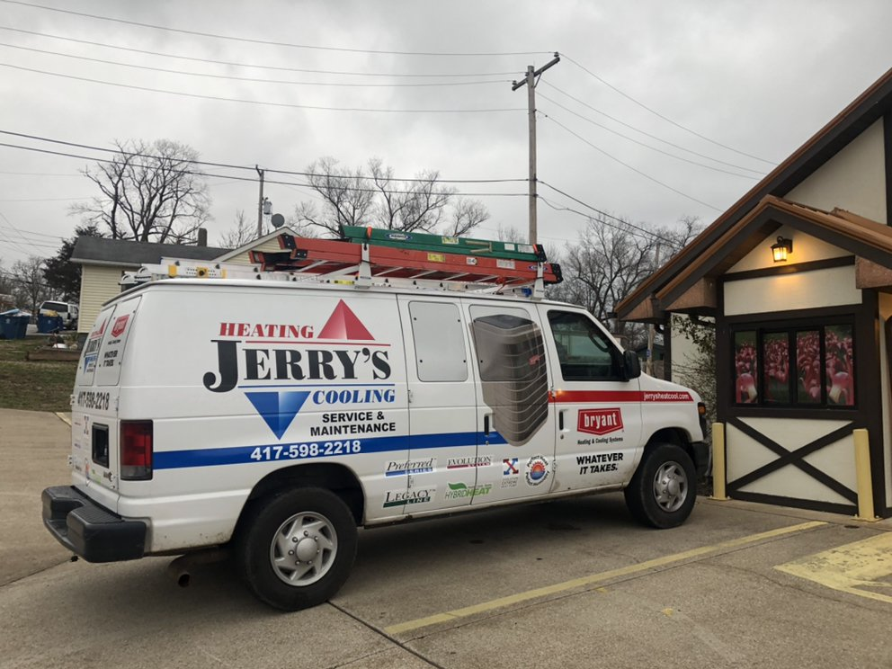 Jerry's Heating & Cooling: 146 Hill Haven Rd, Hollister, MO