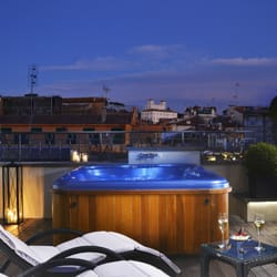 Photo Of The First Hotel Rome Roma Italy Jacuzzi Private Terrace