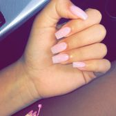 Photo Of Pretty Nails Hialeah Fl United States Coffin Shaped Acrylics Caib