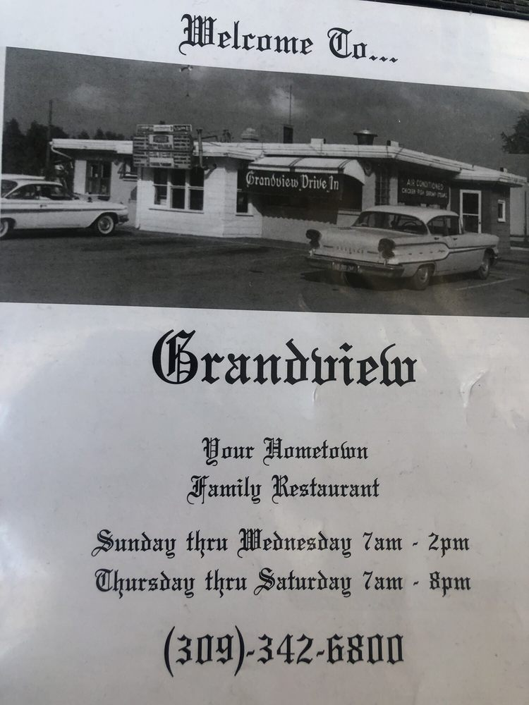 Grandview Restaurant: 2221 Grand Ave, Galesburg, IL
