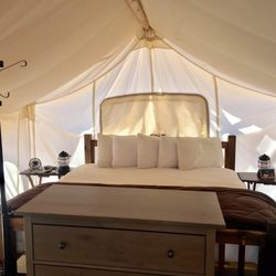 Photo of Under Canvas - Moab - Moab UT United States. Safari tent & Under Canvas - Moab - 139 Photos u0026 82 Reviews - Campgrounds - 13784 ...