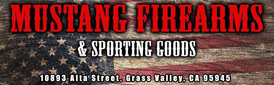 Mustang Firearms and Sporting Goods: 10893 Alta St, Grass Valley, CA