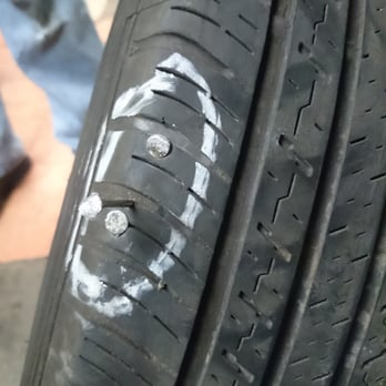 Asmr patching up a tire