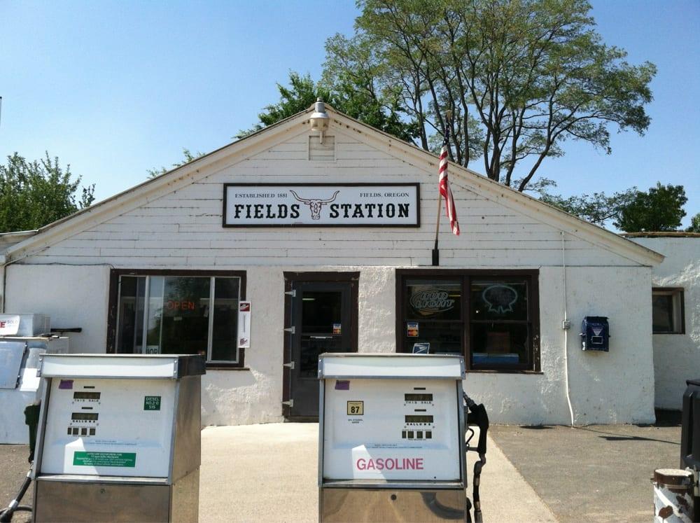 Fields General Store Motel & Cafe: 22276 Fields Dr, Fields, OR