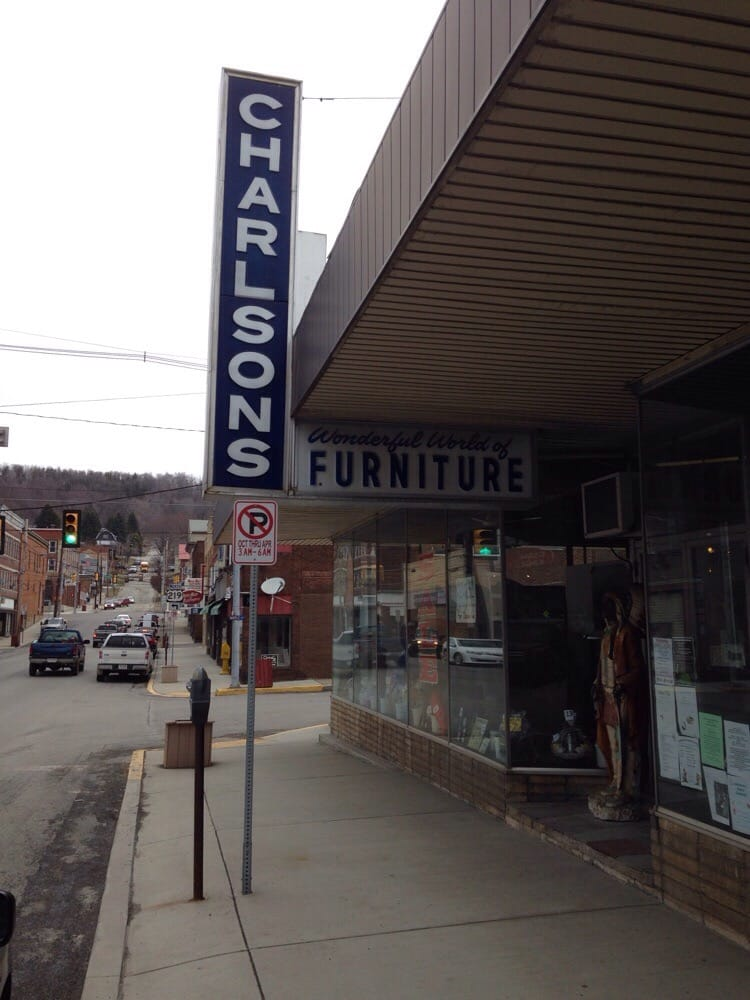 Charlsons Furniture: 4115 Crawford Ave, Northern Cambria, PA