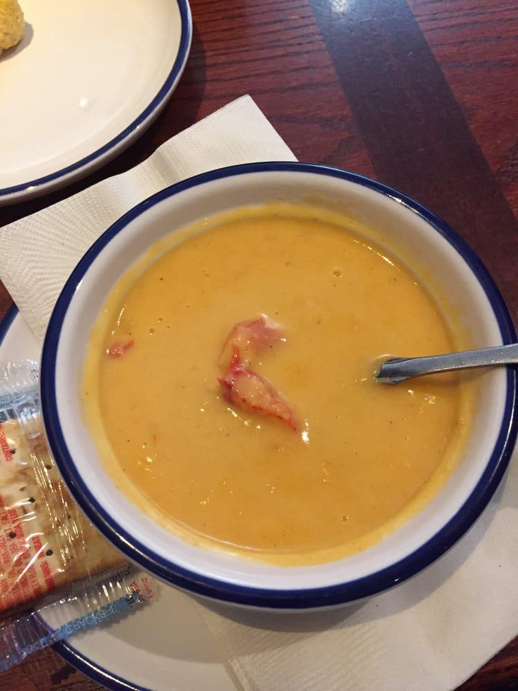 Lobster B Soup My Lobster Bisq...