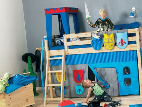 Lit chevalier chambre d 39 enfant flexabordeaux yelp - Dormitorios infantiles con tobogan ...
