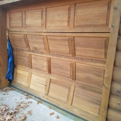 Photo Of Trinity Garage Doors   Fredericksburg, VA, United States. Door Was  Hit