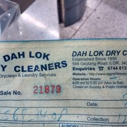 Photo Of Dah Lok Dry Cleaners