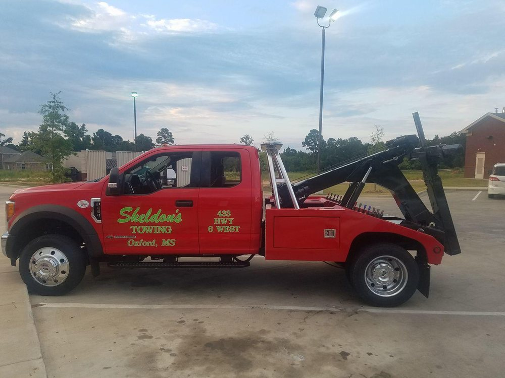 Sheldon's Towing: 433 Hwy 6 W, Oxford, MS