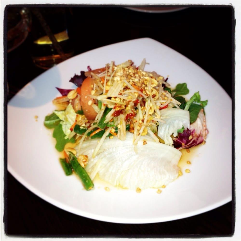 Papaya salad yelp for 5 star thai cuisine