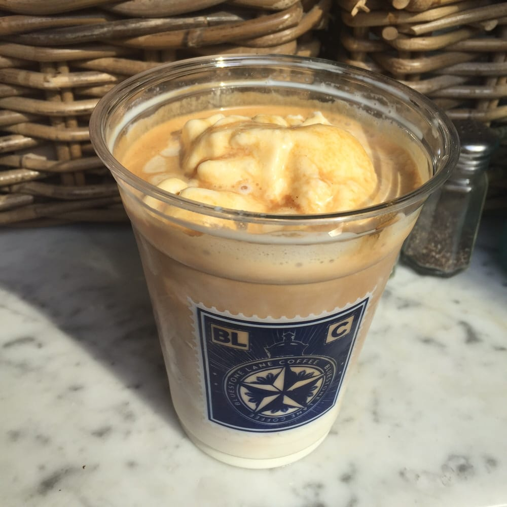 The Aussie Latte- An Iced Latte With Milk, Espresso, And