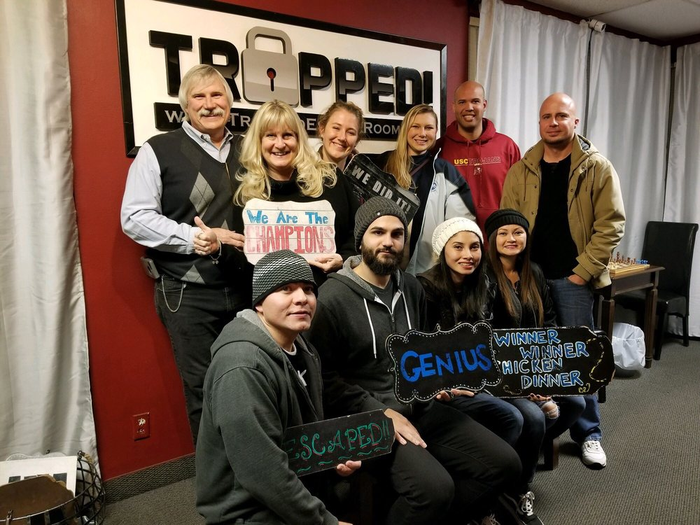 Social Spots from Trapped! Escape Room