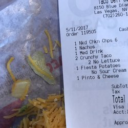 taco bell 12 photos 44 reviews fast food 8150 blue diamond