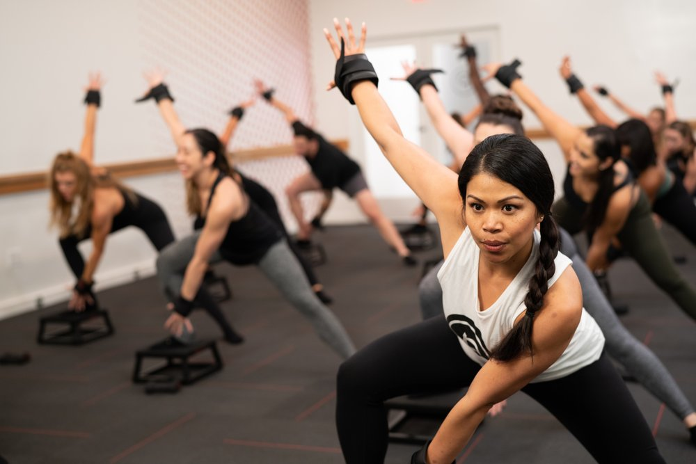Social Spots from Pure Barre - Newton