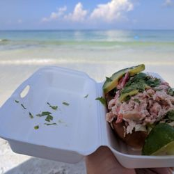 Photo Of Lido Beach Restaurant Sarasota Fl United States Lobster Roll