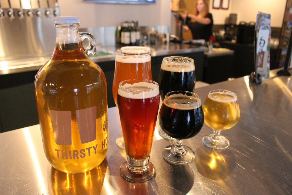 Social Spots from Thirsty Hop