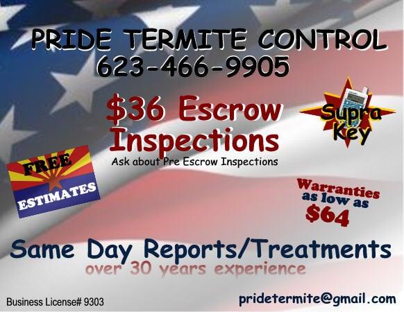 Pride Termite Control: 3553 N 292nd Dr, Buckeye, AZ