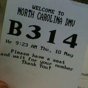 North Carolina Division of Motor Vehicles - 6635 Executive
