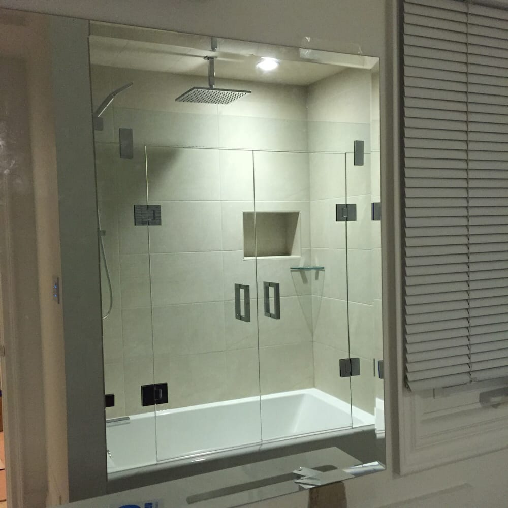 Frameless Glass Bathtub Enclosure Yelp