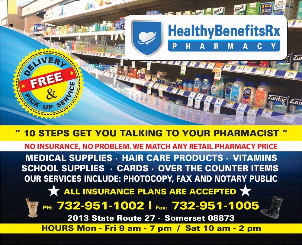 HealthyBenefits RX Pharmacy - Pharmacy - 2013 State Rte 27, Edison