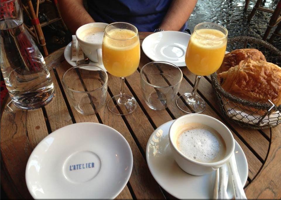 Caf Ef Bf Bd L Atelier  Boulevard Du Montparnasse  Paris