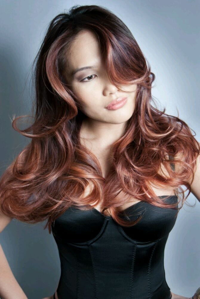 Rosegold Ombre By Guytang Yelp