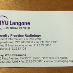 NYU Imaging/ Radiology - 530 1st Ave, Kips Bay, New York, NY