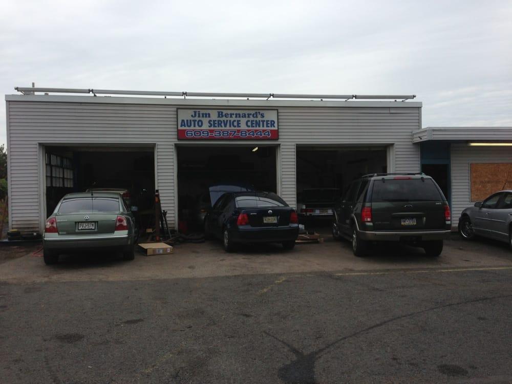 Jims Bernard's Auto Service Center: 933 Woodlane Rd, Beverly, NJ