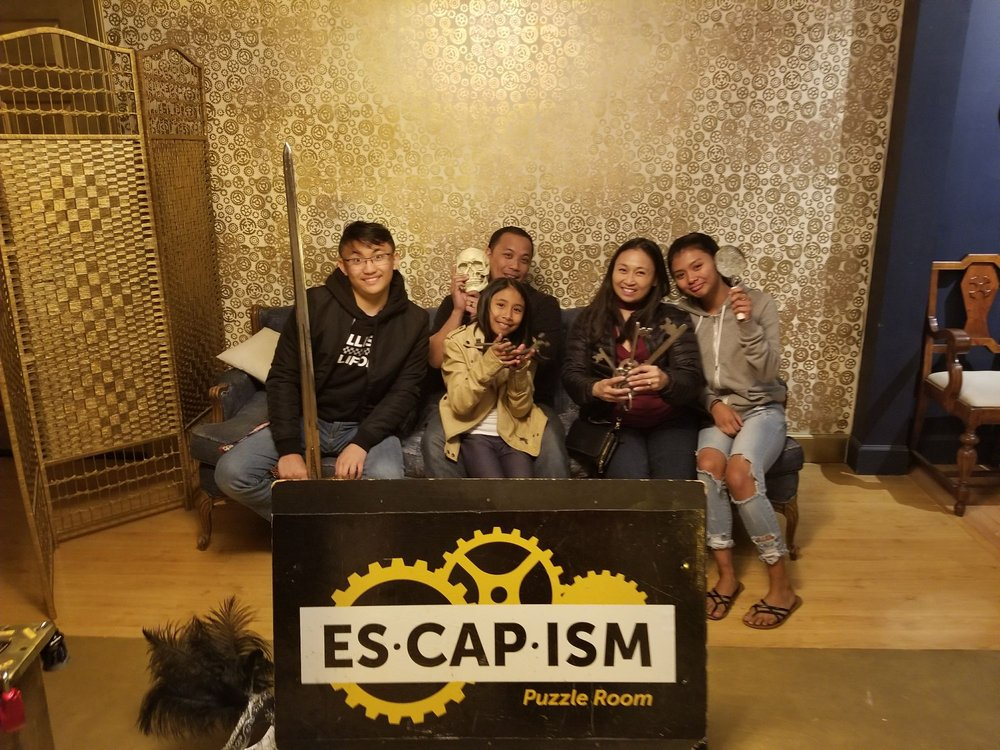 Escapism Puzzle Room