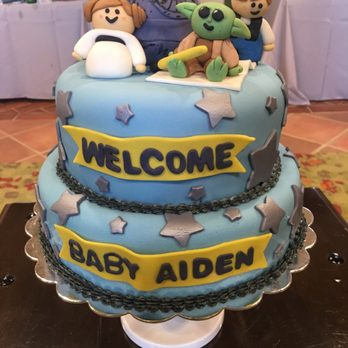 ... Baby Shower Cake So Special! Photo Of Silver Cup Bakery   Chula Vista,  CA, United States. Star Wars