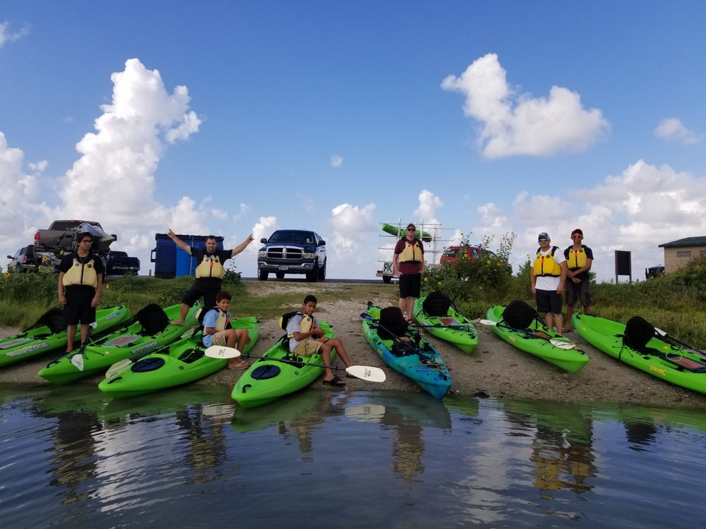 Rockport Kayak Guide Services: Fulton, TX