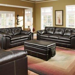 Photo Of V Dub Furniture   Phoenix, AZ, United States. Leather Sofa