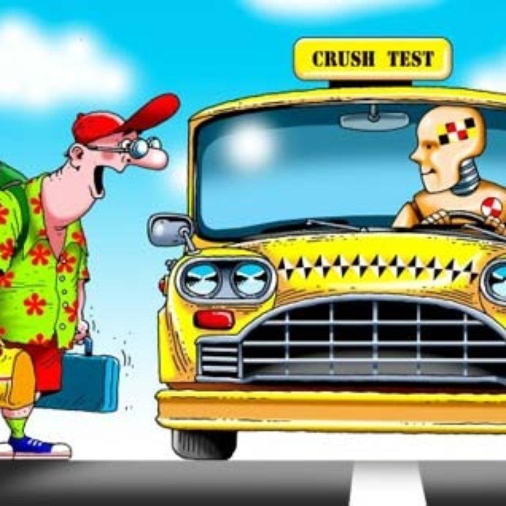 Прикольные картинки с машинками такси, обиженному