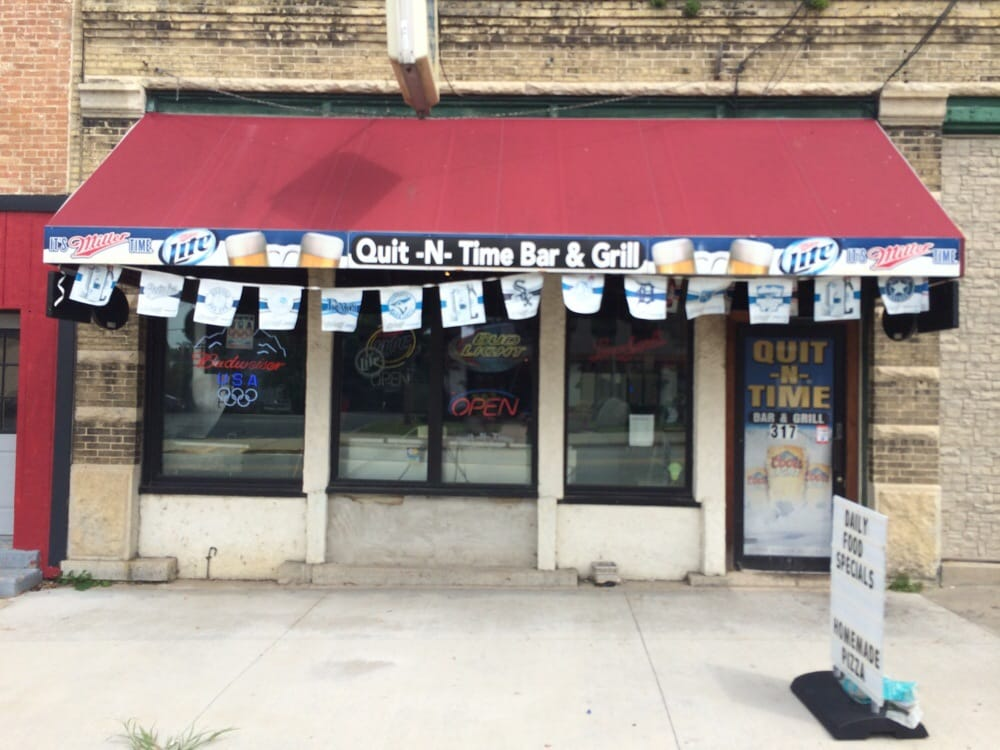 Quit N Time: 317 W State St, Fox Lake, WI