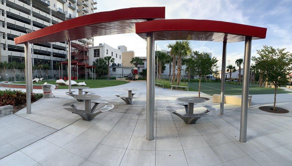 Madison Street Park: 1208 E Kennedy Blvd, Tampa, FL