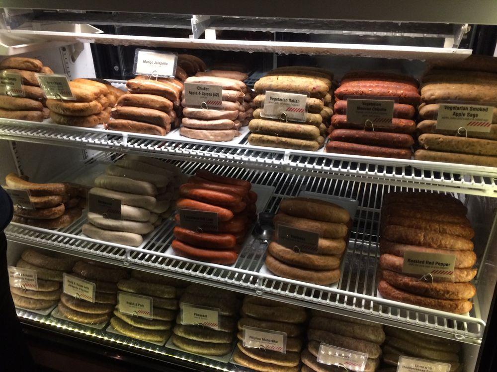 Sausage Display Case Yelp