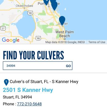 Map Of Stuart Florida.Culver S 15 Photos 32 Reviews Burgers 2501 S Kanner Hwy