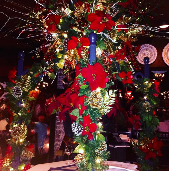 Photo of Casa Juancho Spanish Restaurant - Miami, FL, United States. Beautiful Christmas