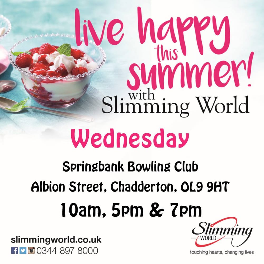Slimming world chadderton weight loss centres albion street oldham oldham greater Slimming world clubs