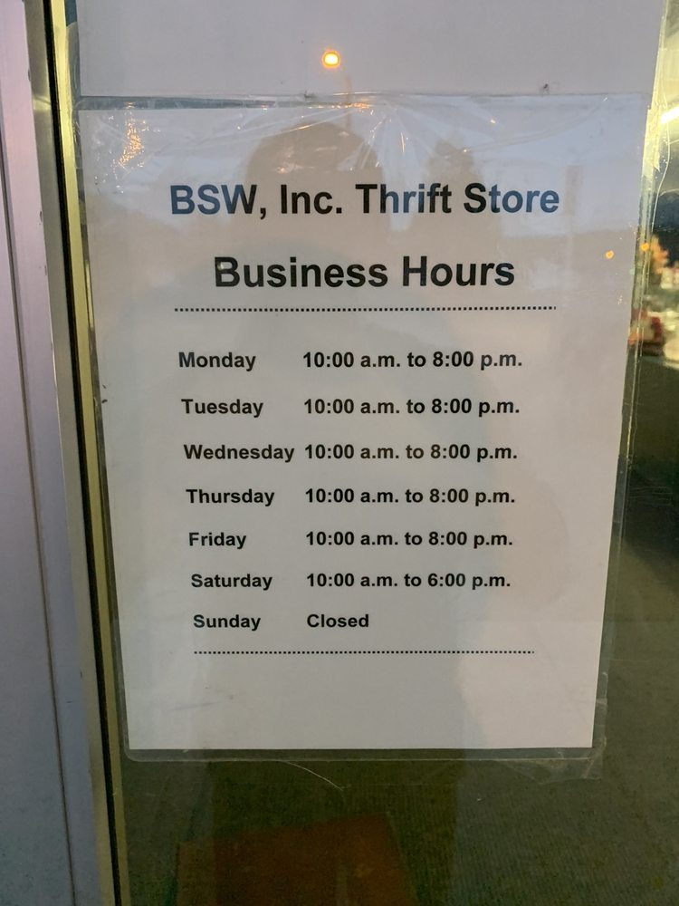 BSW Thrift Store: 2310 Cobban St, Butte, MT