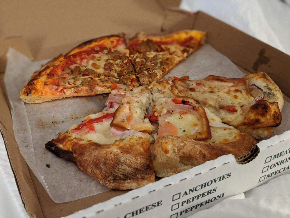 Food from DeFazio's Pizzeria